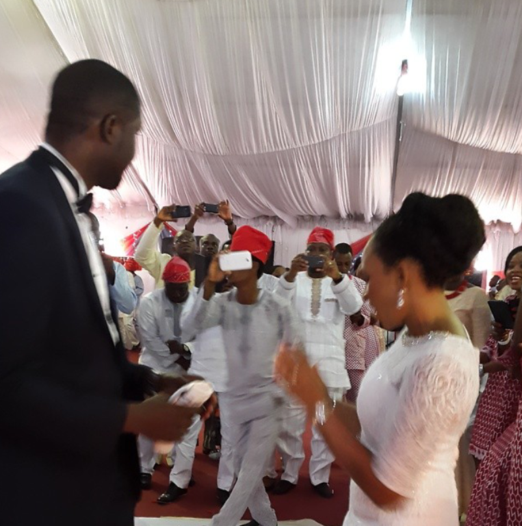 Jimmy Dafe and Dupe Idowu wedding