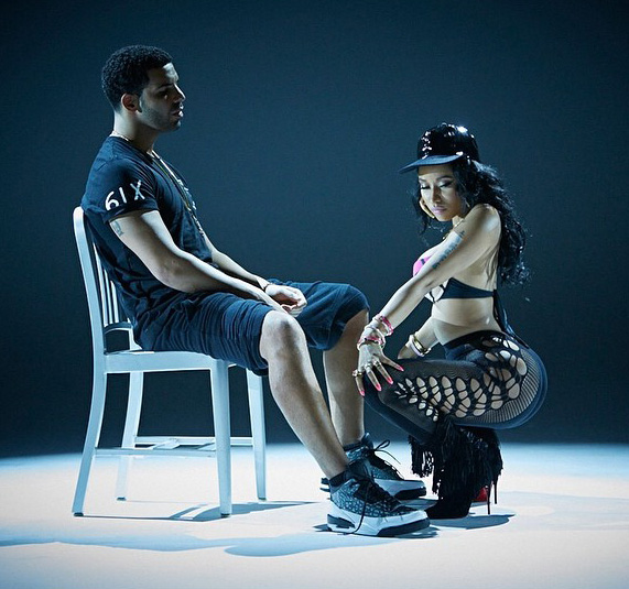Nicki Minaj and Drake get freaky