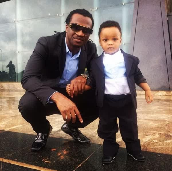 Paul Psquare shares cute new photos of his son Andre