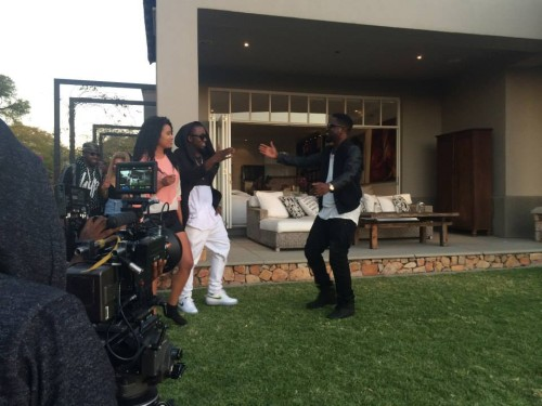 Sarkodie - Ice Prince feat AKA 'N Word video BTS