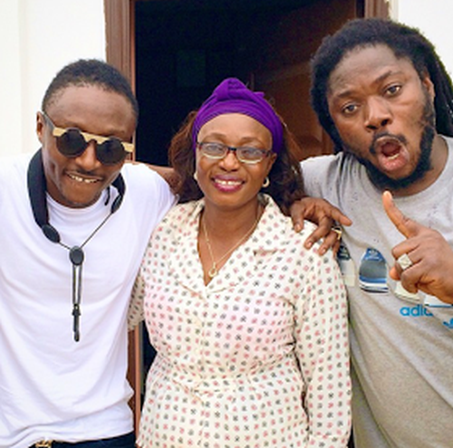 Terry G & mum with Daddy Showkey