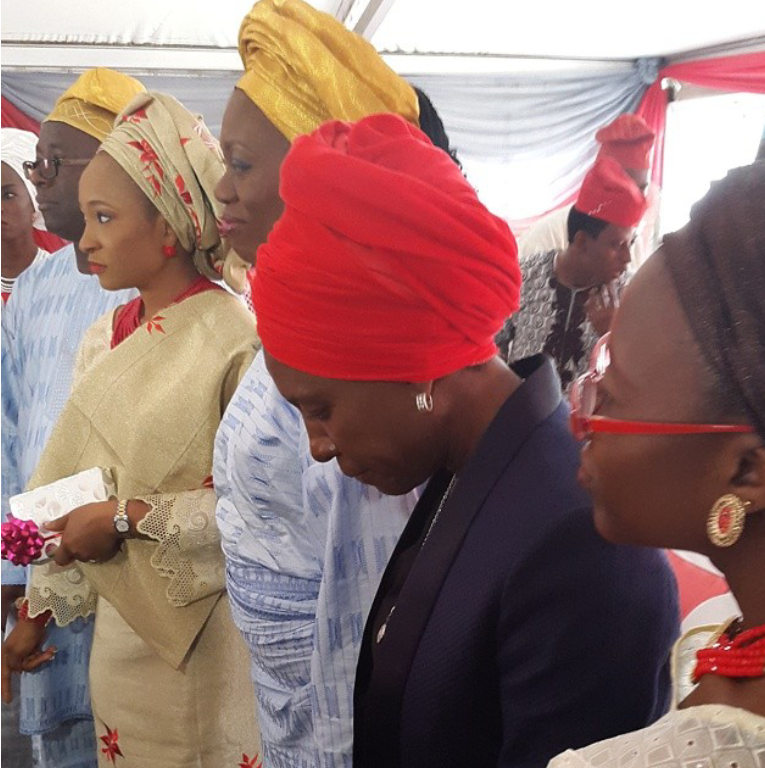 Weird Mc sister's wedding in Lagos