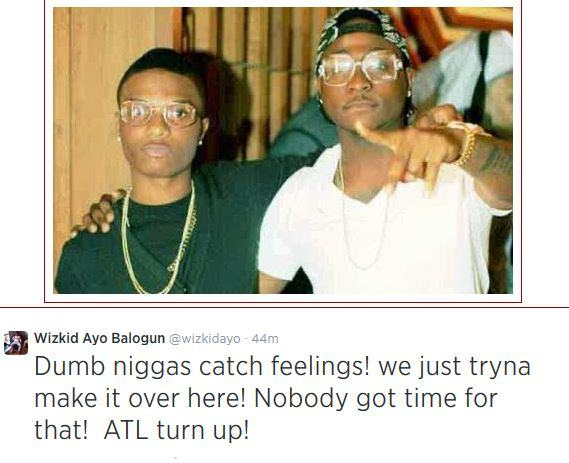 Wizkid fires another shot at Davido
