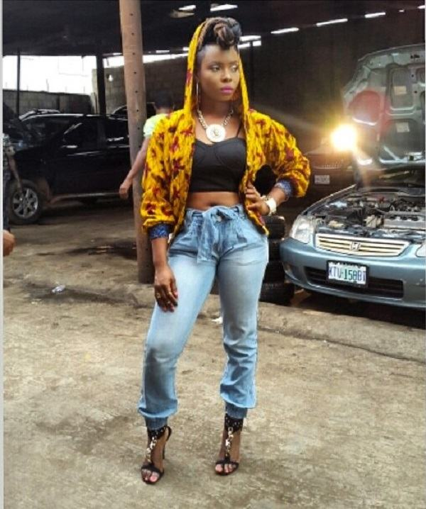 Behind the scene photos from Wande Coal's Baby Hello video
