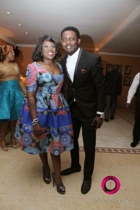 AY & Joke Silva - Monalisa Chinda's 40th birthday party