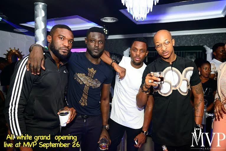 Photos from AY's MVP white party and club opening
