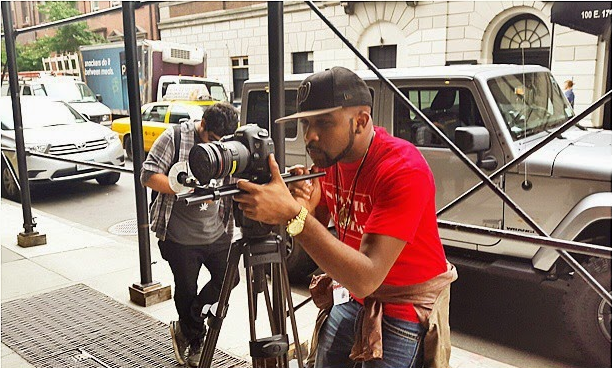 Banky W behind the camera