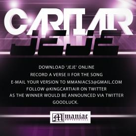 CartiAir – Give It To You (Jeje) [AuDio]