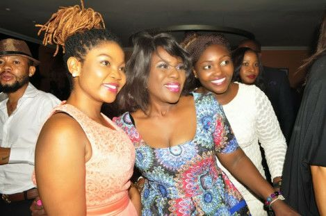 Celebs at Monalisa Chinda's 40th birthday party