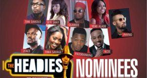 Checkout Headies 2014 Full Nominations List