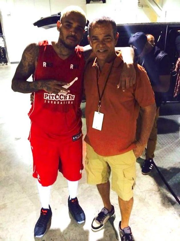Chris Brown and Rihanna father, Ronald Fenty