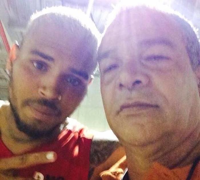 Chris Brown and Ronald Fenty