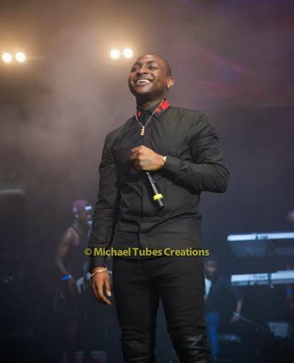 Davido rock the African Unplugged show