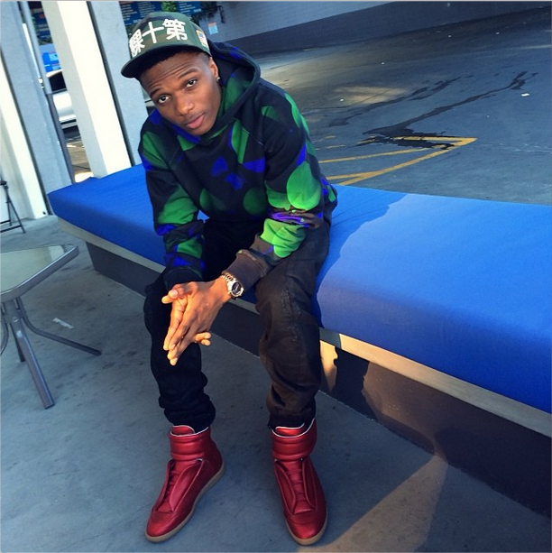 Davido vs Wizkid - Who Rocked N150000 Maison Martin Margiela High Tops Best
