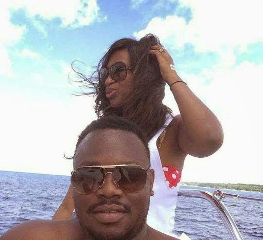 Dr Sid & wife on romantic Caribbean vacation
