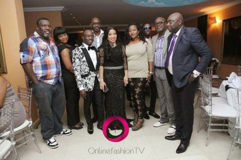 Guests at Monalisa Chinda's 40th birthday party