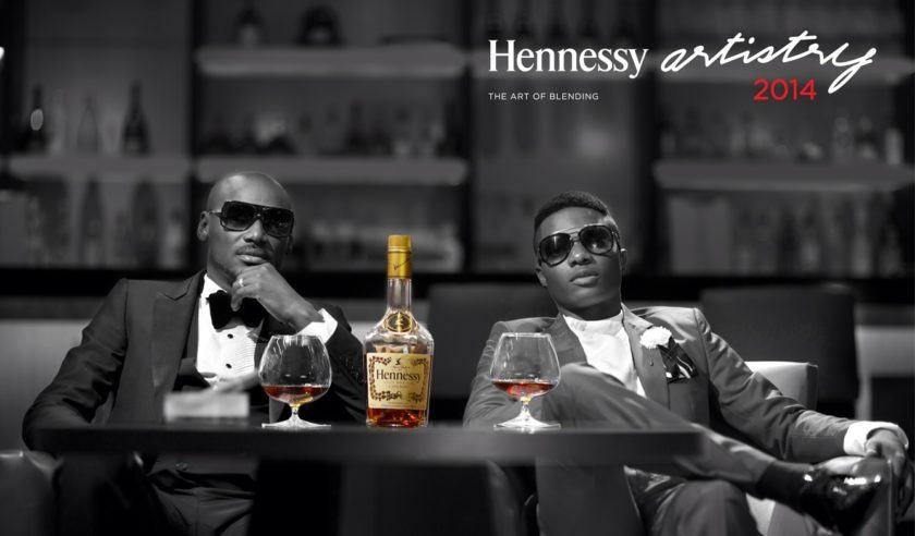 Hennessy Artistry 2014 2baba and Wizkid