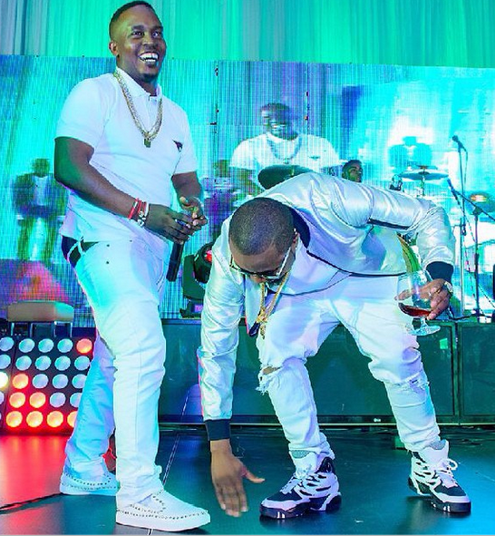 Ice Prince bows to M.I on stage