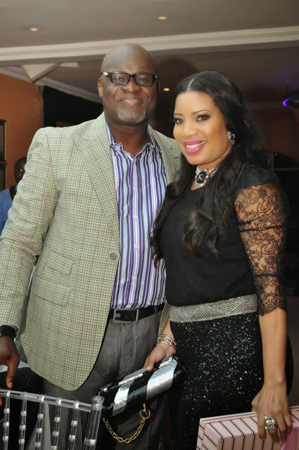 John Okafor - Monalisa Chinda's 40th birthday party