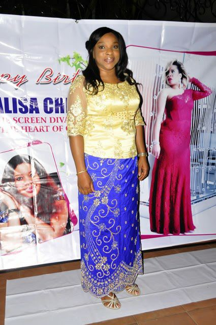 Liz benson - Monalisa Chinda 40th birthday party
