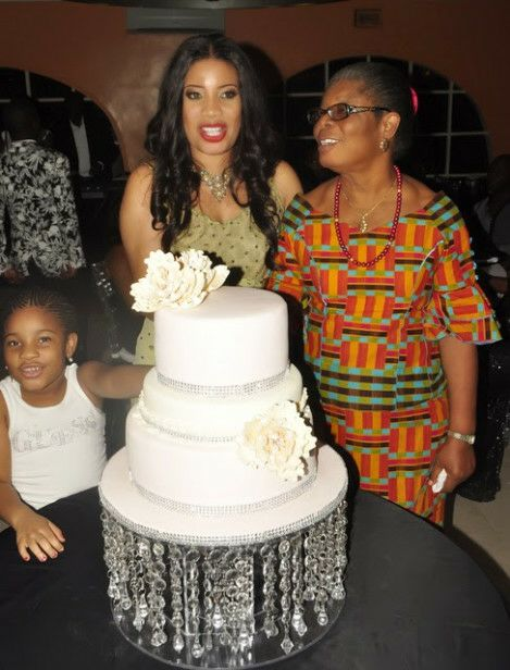 Monalisa Chinda 40th birthday