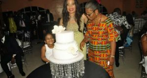 Monalisa Chinda's 40th birthday party