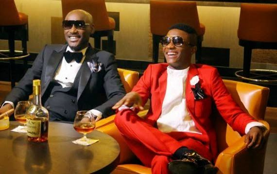 Tuface and Wizkid looking dapper