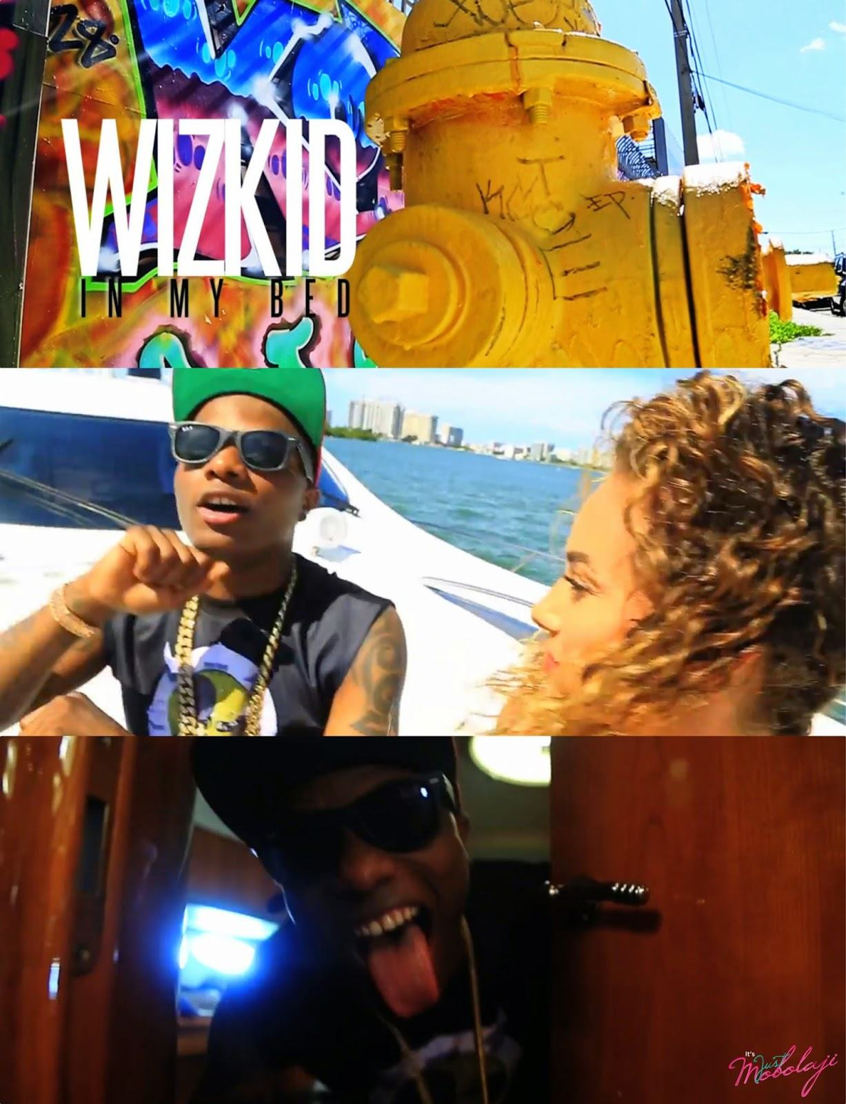 Wizkid - In My Bed [ViDeo]