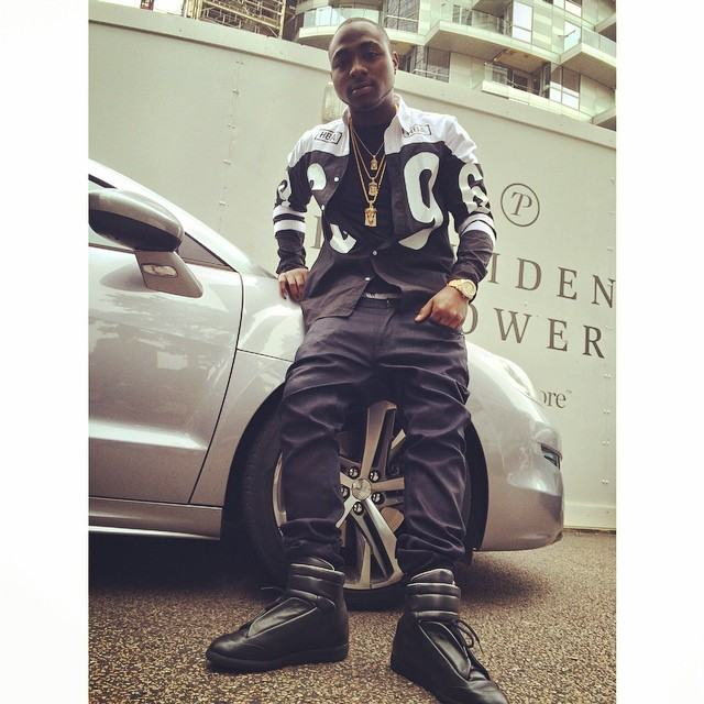 Wizkid vs Davido - Who Rocked N150000 Maison Martin Margiela High Tops Best