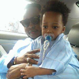 Yemi Sax and son