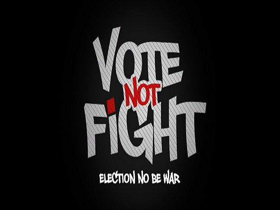 2Face Idibia - Vote Not Fight [AuDio]