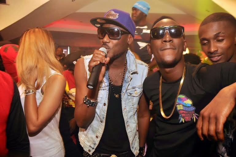 2baba and Dammy krane - PRE's 25th birthday party