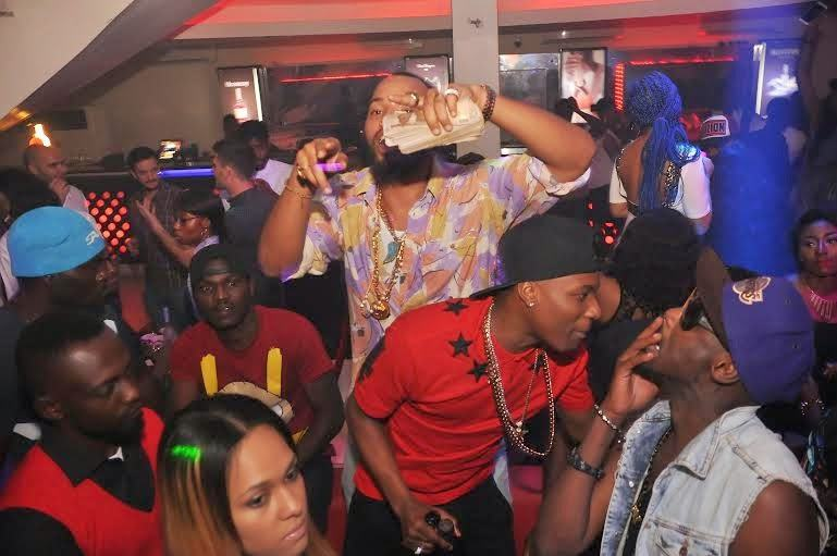 2baba and wizkid - PRE's 25th birthday party