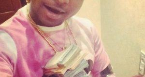 Davido flaunts stack of money on Instagram