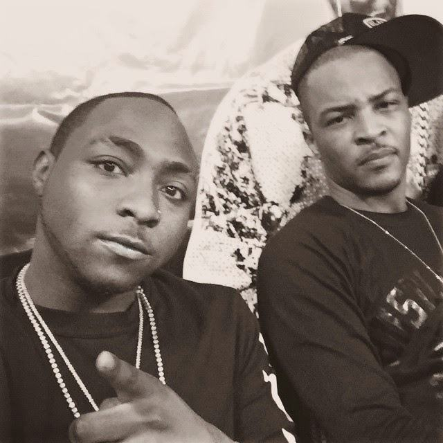 Davido spotted with rapper TI