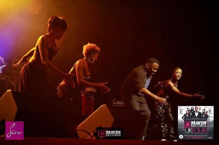 Dr SiD - Mavin electrifying Concert in London