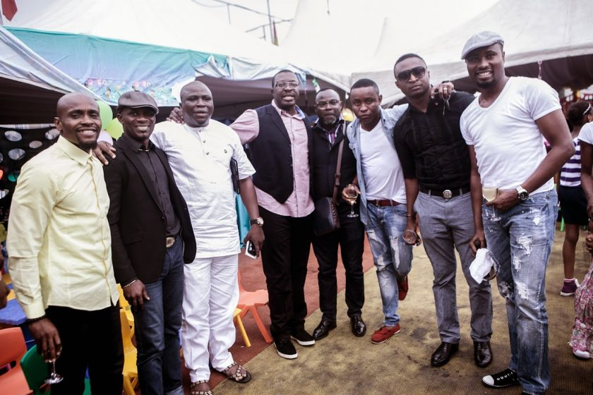 Gbenga Adeyinka, Alibaba, Funny Bone, senator attend Julius Agwus Childrens Birthday Party