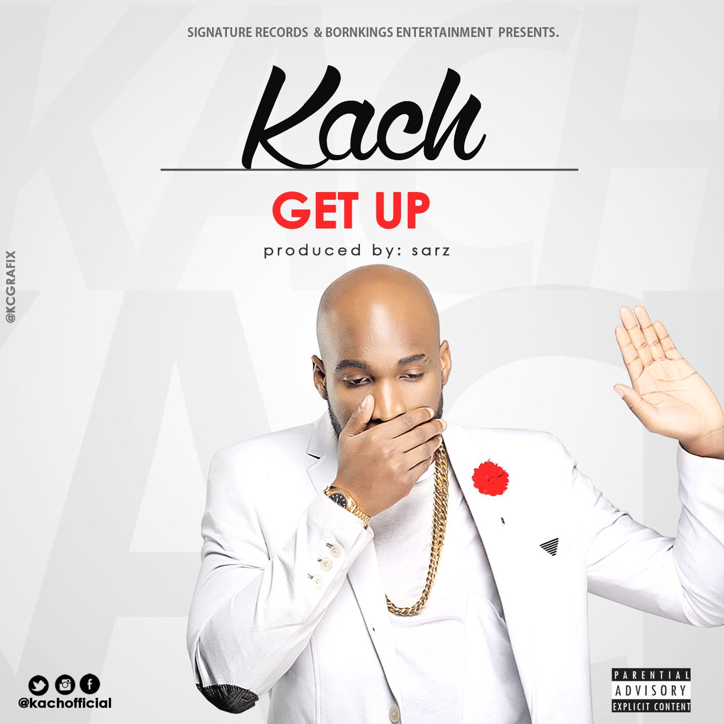 Kach - Get Up [AuDio]