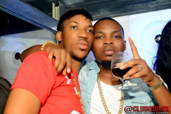 Olamide at Skuki Peeshaun's birthday party