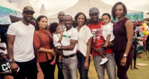 P-Square and Wives, Linda Ikeji, AY, Sound Sultan.. attend Julius Agwu's children's birthday party