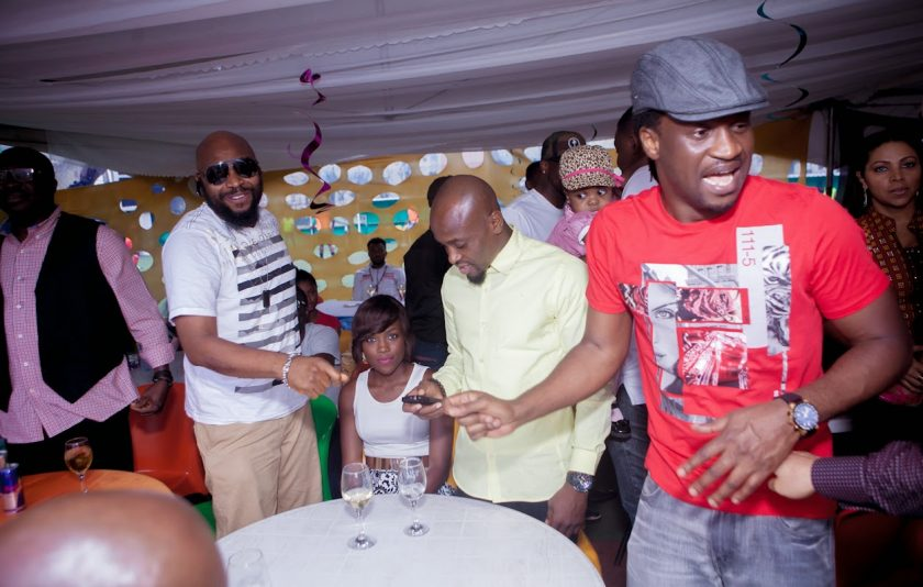 Paul Okoye, Yaw at Julius Agwus Childrens Birthday Party