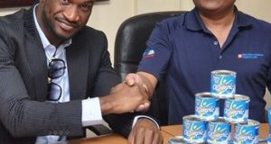 Peter Okoye now the face of Olympic Milk