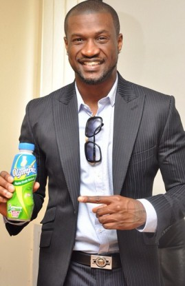 Peter Okoye now the new face of Olympic Milk NaijaVibe