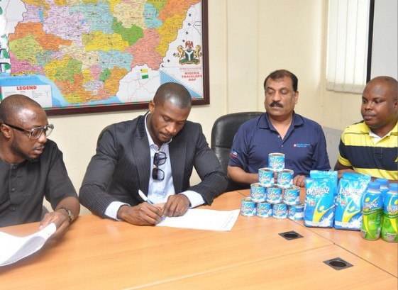 Peter Okoye now the new face of Olympic Milk