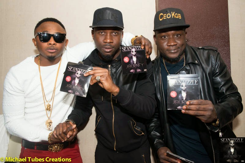 Sean Tizzle's album listening party in London