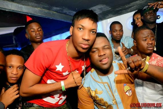 Skales at Skuki Peeshaun's birthday party