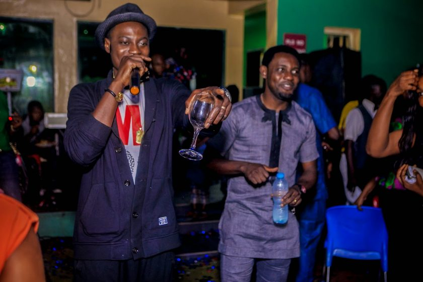 Sound Sultan and AY at Julius Agwus Childrens Birthday Party