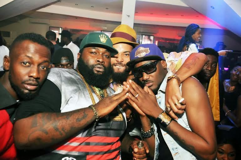 Spesh, Jude, 2baba - PRE's 25th birthday party