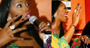 Tiwa Savage spotted without her wedding ring