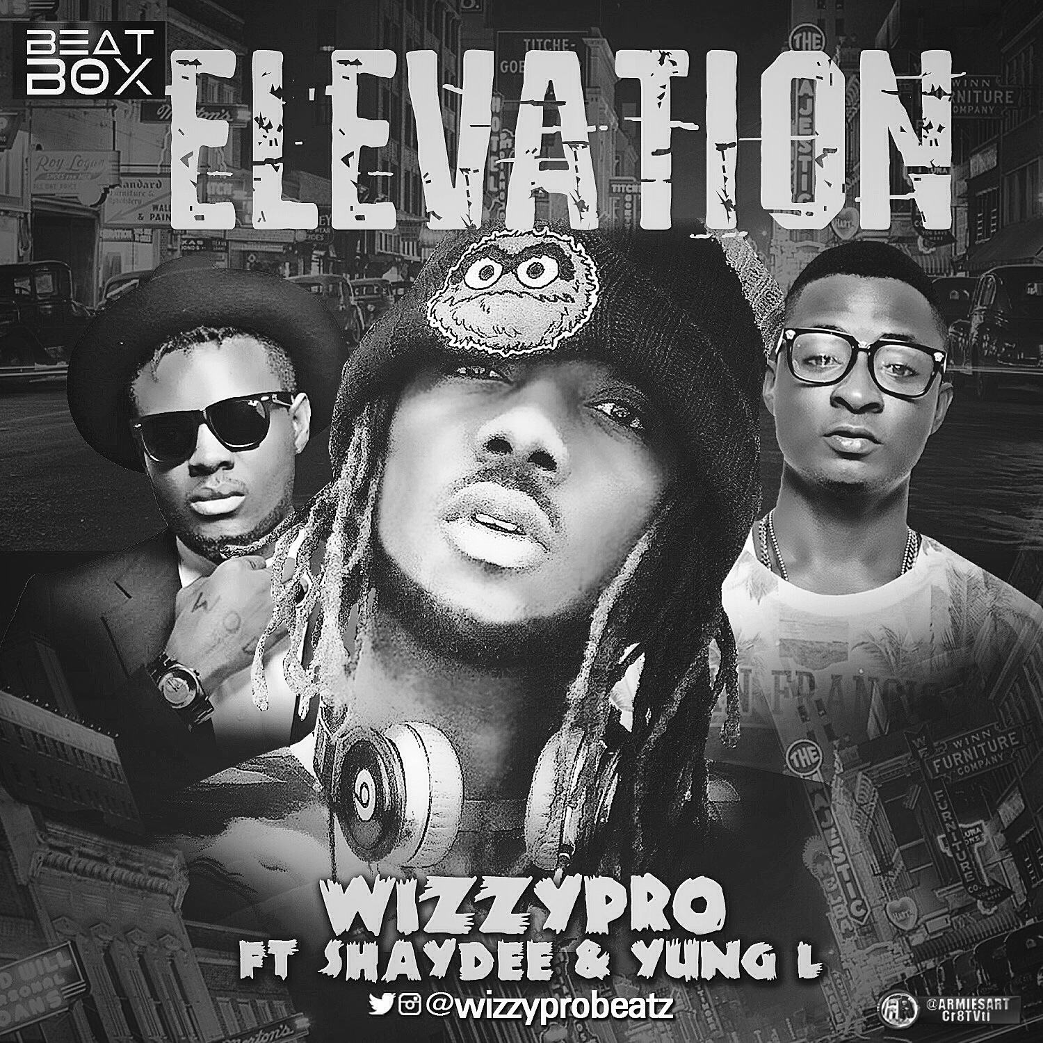 WizzyPro - Elevation ft Shaydee & Yung L [AuDio]